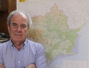 José Luis Nicolás, jefe de servicio del Sistema del Trasvase Tajo-Segura en la Confederación Hidrográfica del Segura