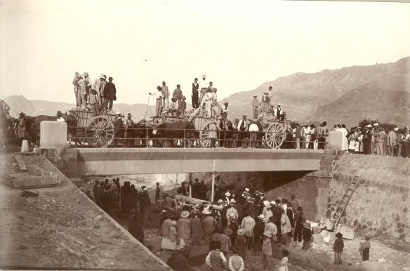 puente reguerón 1950